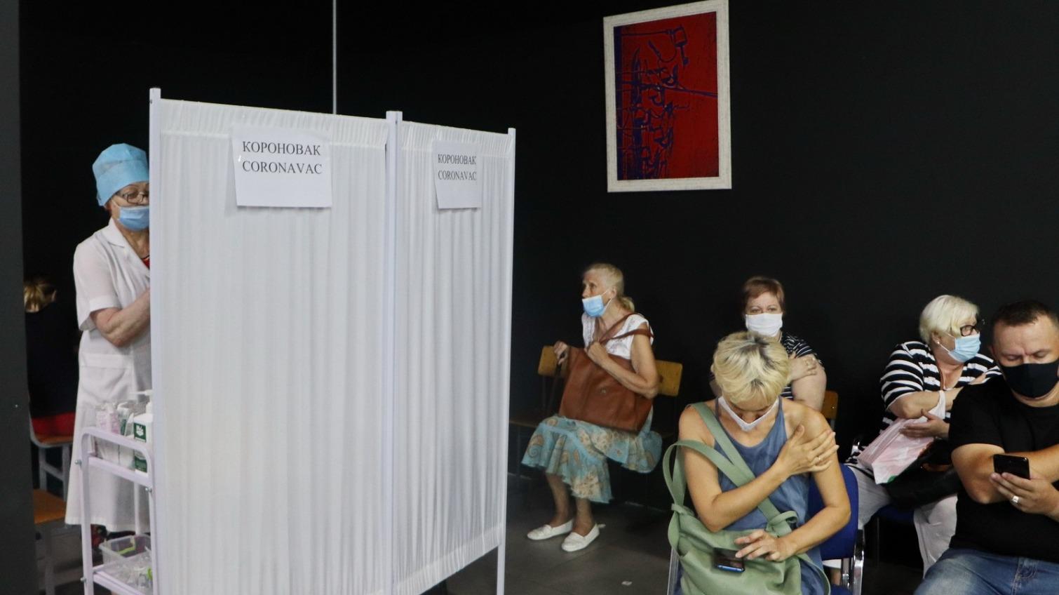 Рекордное число одесситов сделали прививку от COVID-19 (фото) «фото»