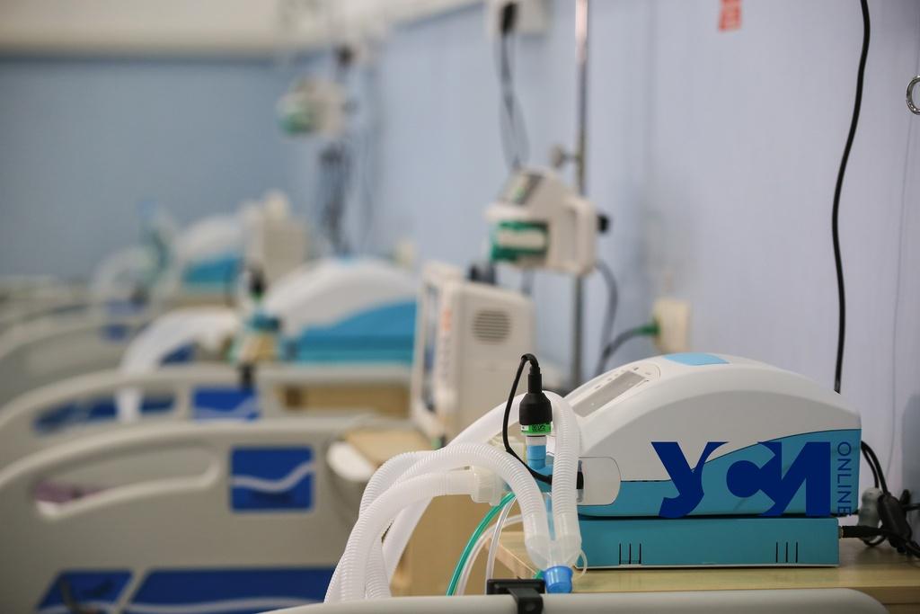 В Одессе ковидным больницам не хватает анестезиологов и мощности электросетей  (фото) «фото»