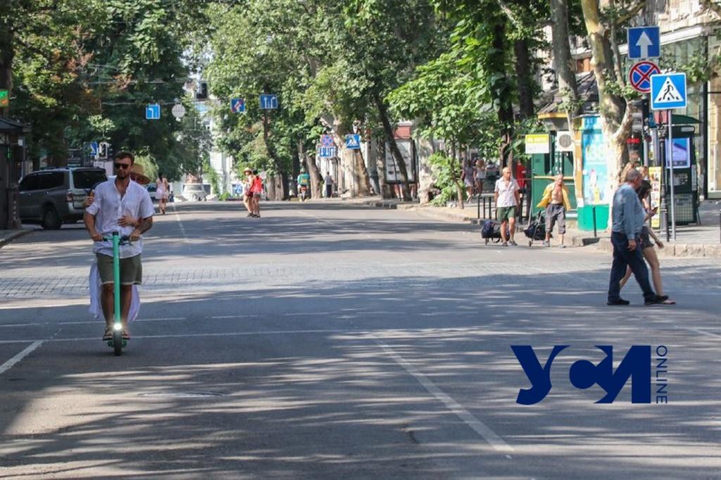 Велосипеды, мопеды и авто местных: как выглядит пешеходный центр в Одессе (видео, фото) «фото»