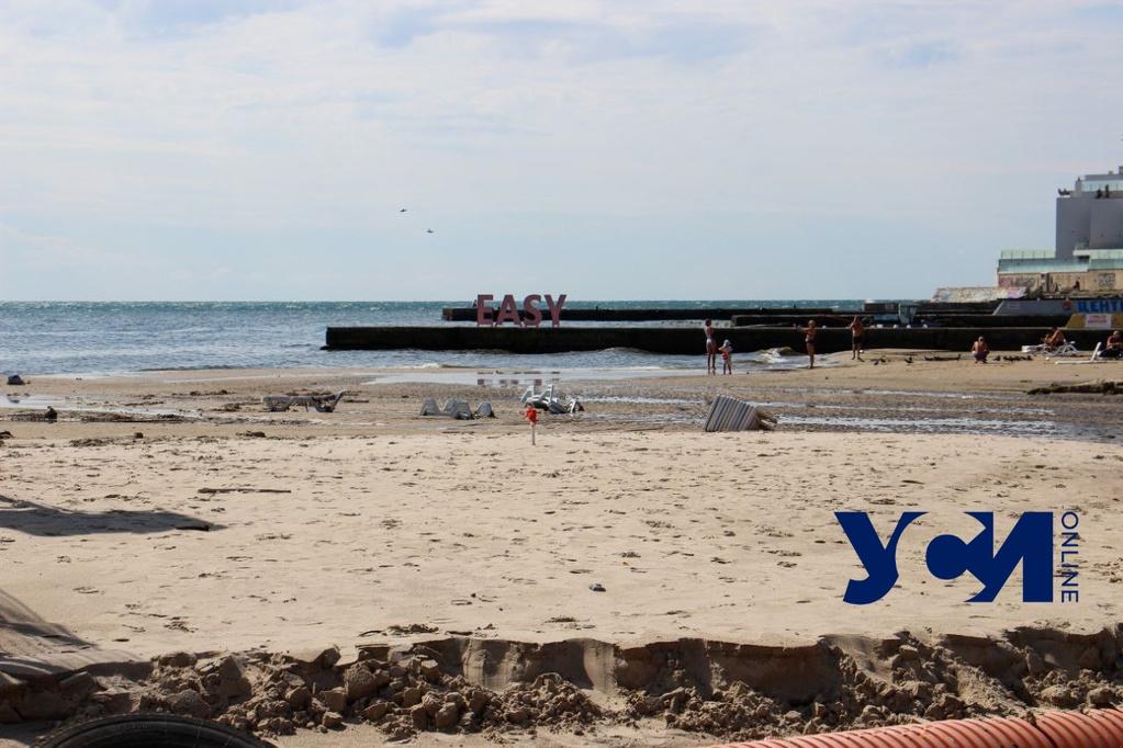 В Одессе рекомендуют временно воздержаться от купания в море «фото»