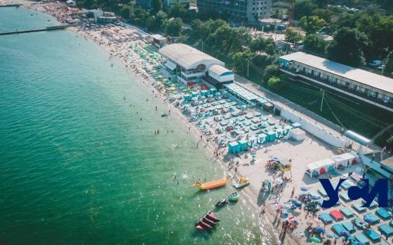 Большой Фонтан: одесские пляжи с высоты птичьего полета (фото) «фото»