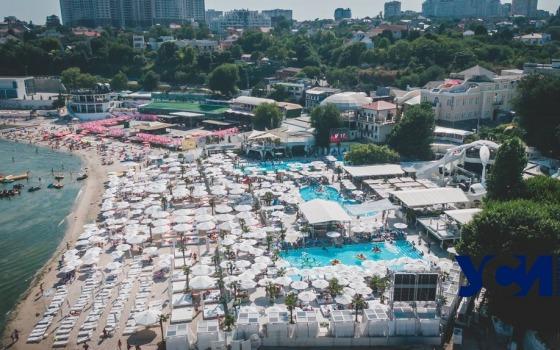 Аркадия: «летаем» над одесскими пляжами (фото) «фото»