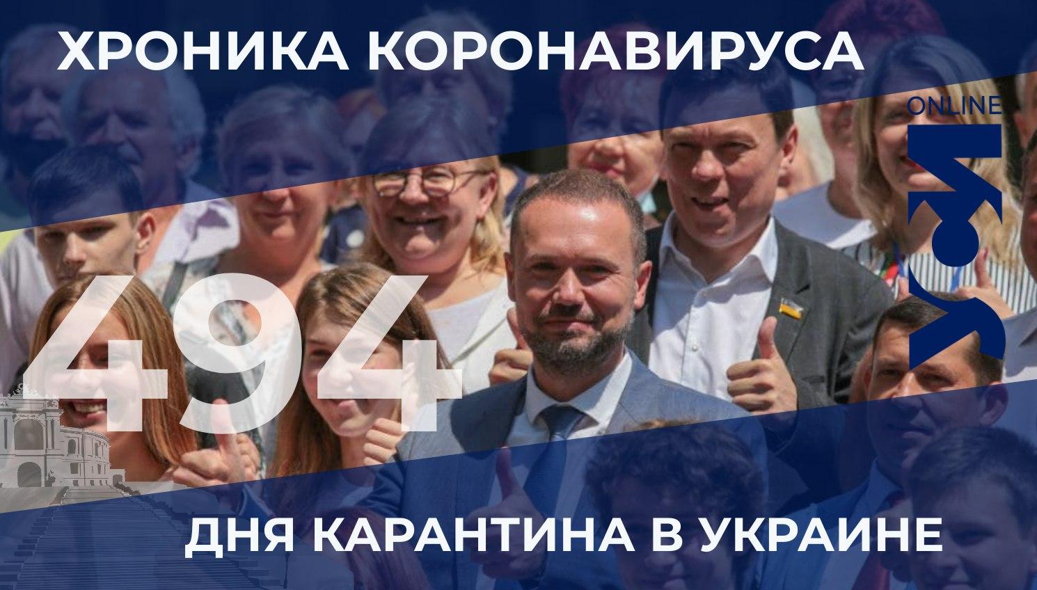 Хроника коронавируса: Одесская область в лидерах по новым случаям заболевания «фото»