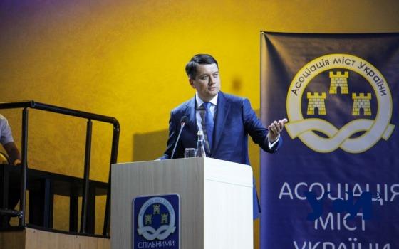 В Одессе Разумков усомнился в необходимости приватизации порта «Южный» (фото) «фото»