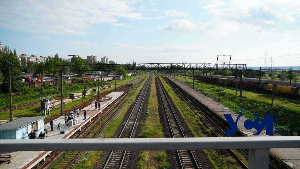 Из-за непогоды задерживаются поезда в Одессу «фото»