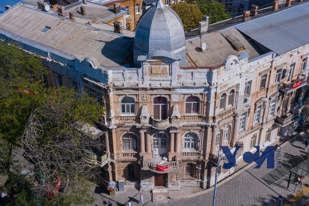 Дворец Скаржинских на Софиевской отреставрируют за 18 миллионов (фото) «фото»