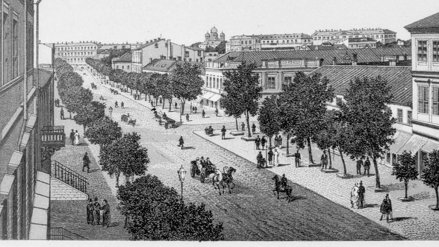 Дерибасовской 210 лет: рассказываем, как ее описывали современники в XIX — начале XX века «фото»