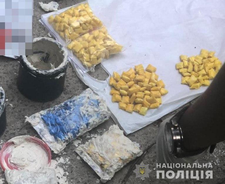 Киевлянка попалась в Одессе с 360 «закладками» с амфетамином «фото»
