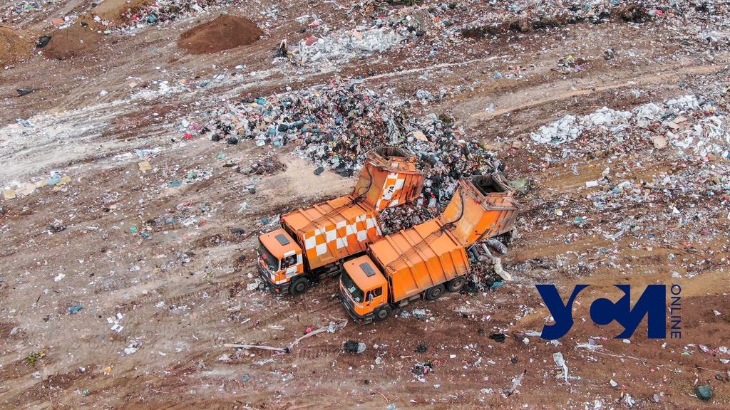 Ущерб от мусорных свалок в Одесской области составил 2,7 млн «фото»