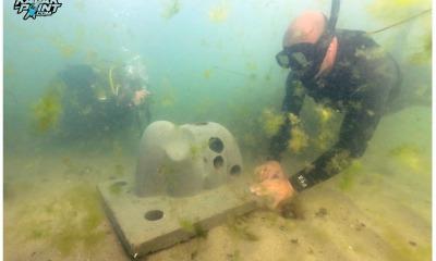 Домики для морских жителей появились на пляже 14-й Фонтана (фото) «фото»