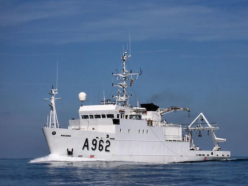 Бельгия передала Украине корабль для исследований «фото»