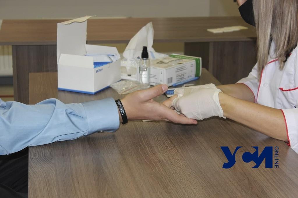 Одесситы смогут бесплатно сдать тесты на гепатиты (аудио) «фото»