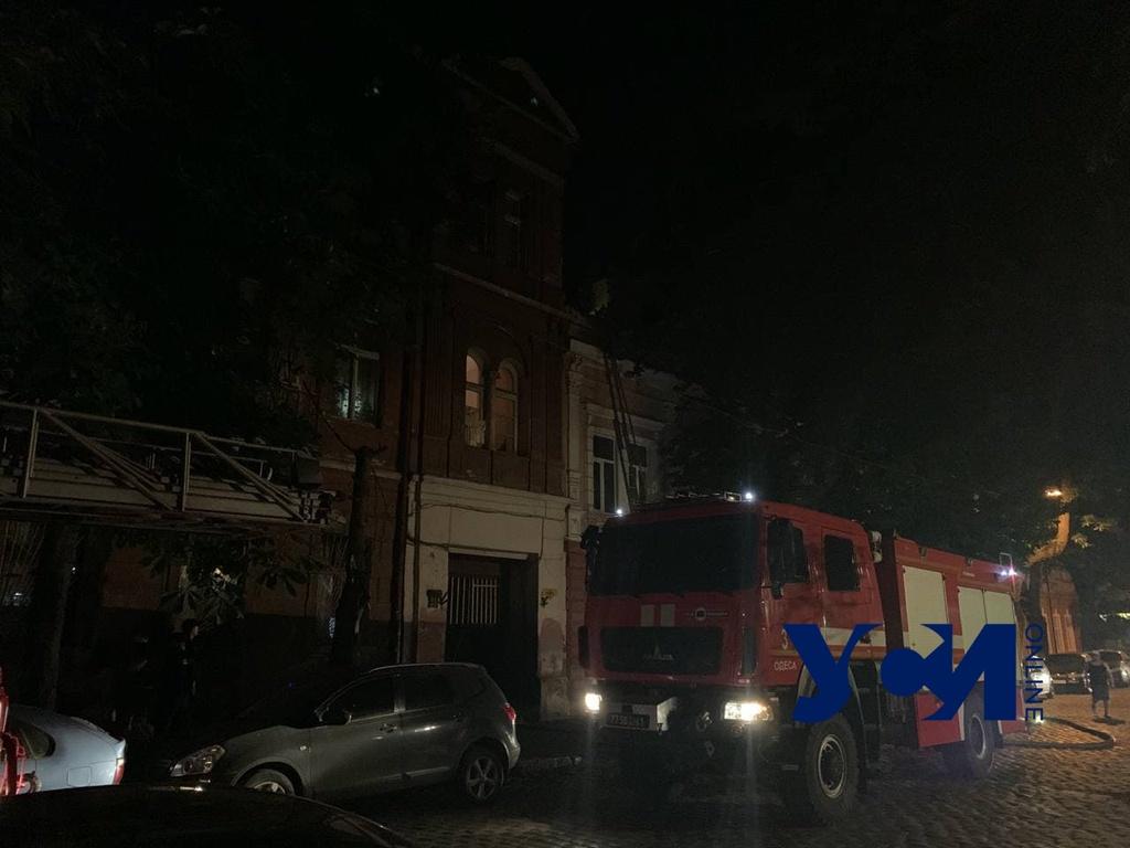 На Кузнечной произошел пожар в жилом доме (фото) «фото»