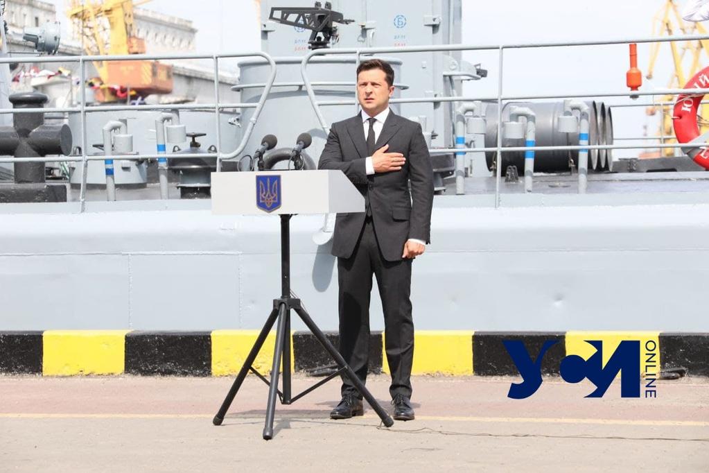 Украина получит собственный корвет, — Зеленский «фото»