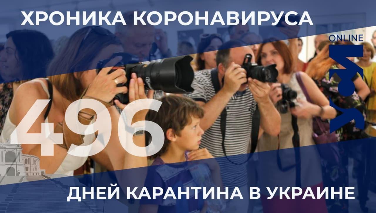 Хроники пандемии: Одесская область все еще среди лидеров «фото»