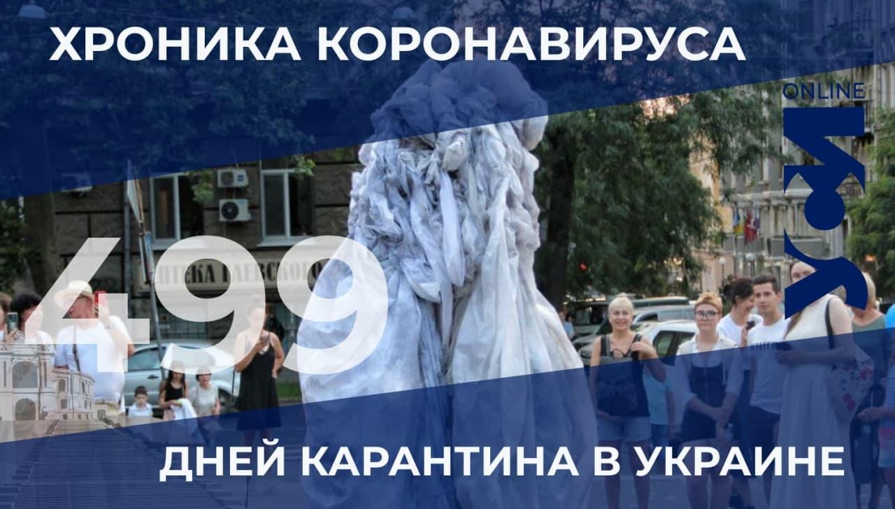 Хроника коронавируса: Одесской области нет в лидерах по заболеваемости «фото»