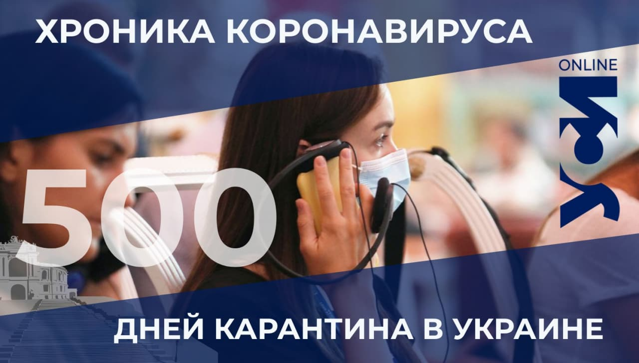 Хроники пандемии: в Одесской области 38 новых заболевших «фото»