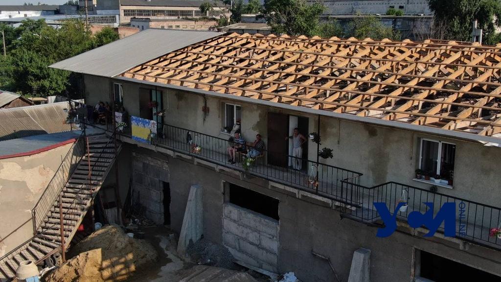 Из-за стихии одесский приют для пенсионеров остался без крыши: нужна помощь (фото) «фото»