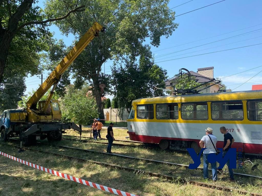 На поселке Котовского мужчина попал под трамвай (фото) Обновлено «фото»
