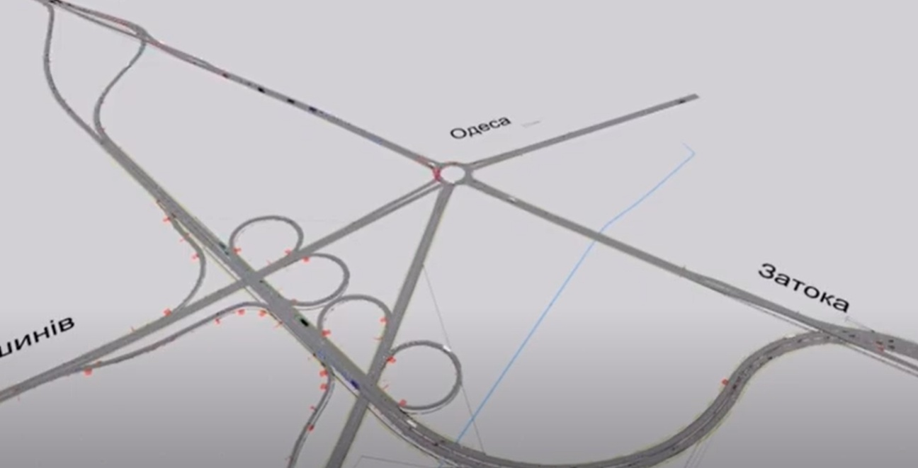 Четыре двухуровневых «петли»: какой будет новая развязка у Двух столбов (видео) «фото»