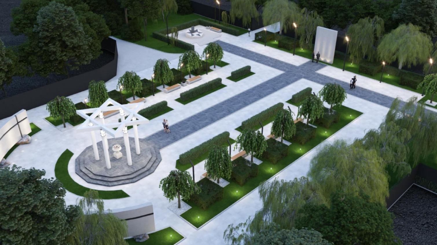 Проекты сквера-мемориала «Против забвения» покажут на выставке (фото) «фото»