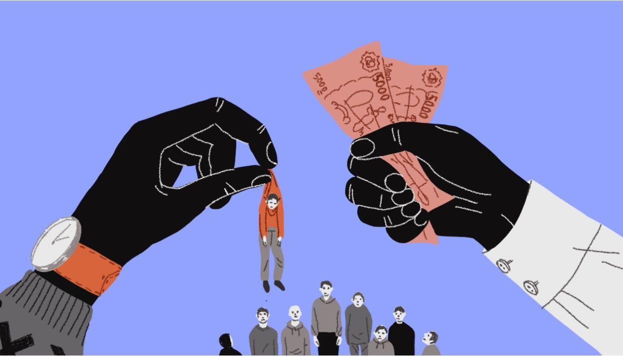 Одесситам рассказали, как обезопасить себя от рабства (аудио) «фото»