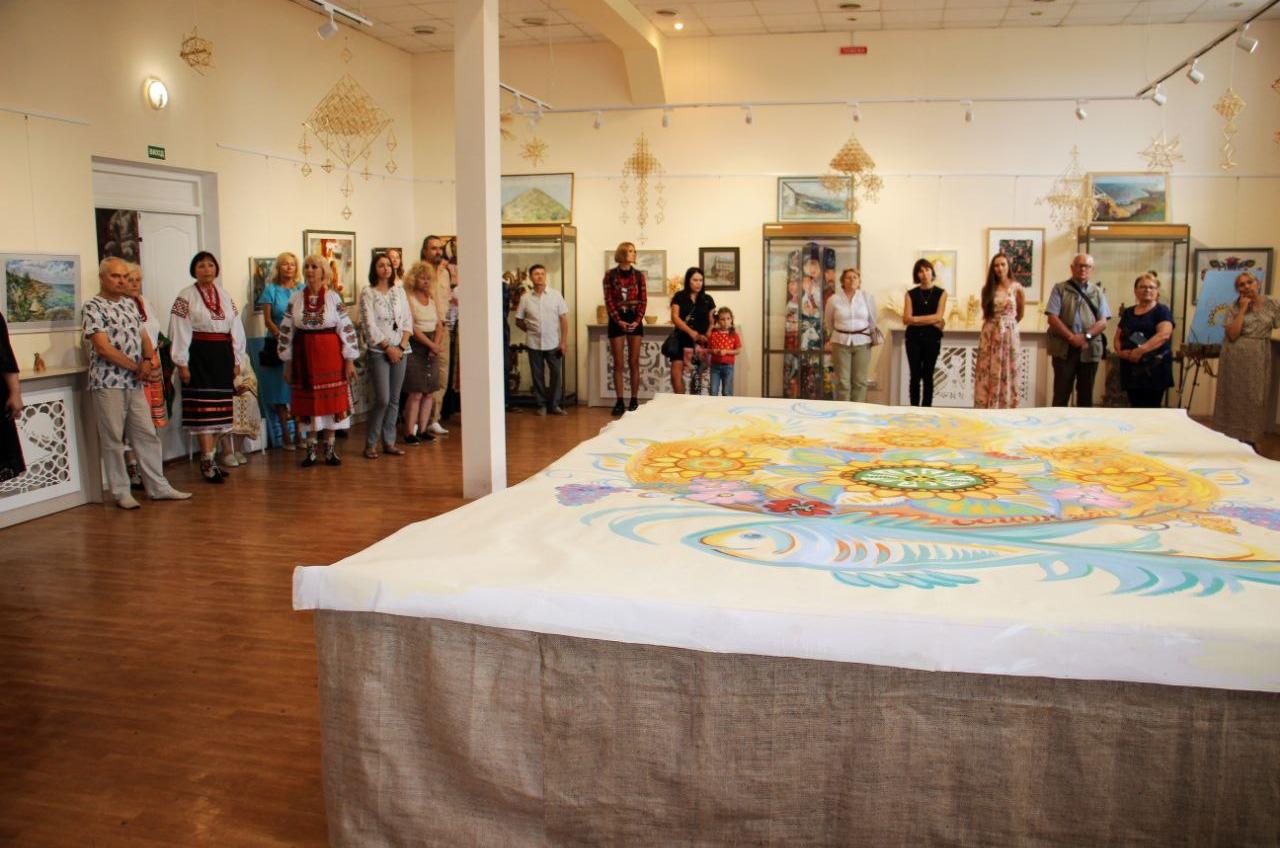 В Одессе можно увидеть уникальное панно «Дерево жизни Одесчины» (фото, аудио) «фото»
