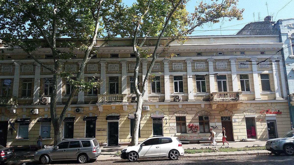 Дом-памятник архитектуры в центре Одессы «декоммунизируют» «фото»