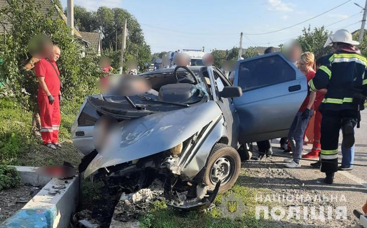Возле Сараты в ДТП погибли трое полицейских «фото»