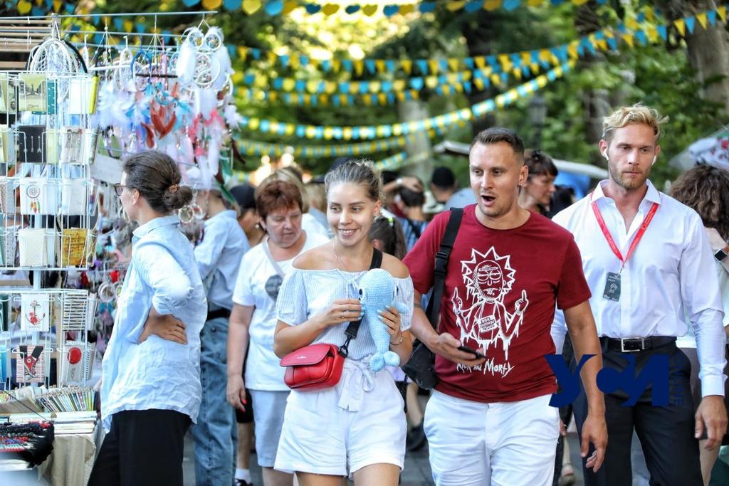 На Приморском бульваре открыли традиционную ярмарку (фото) «фото»