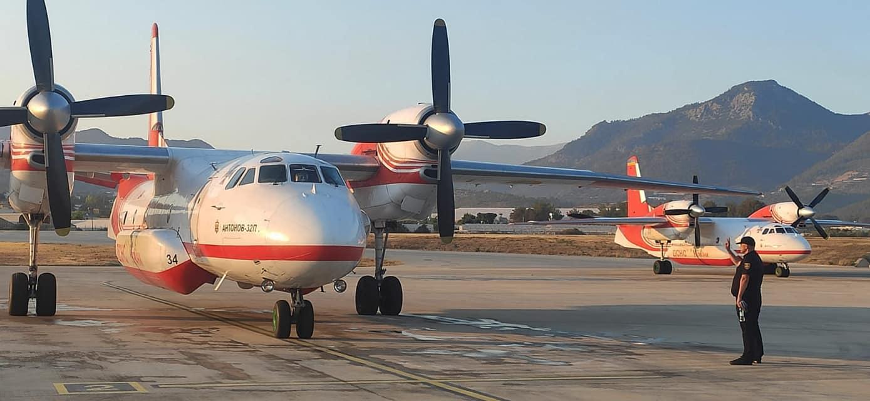 Одесская авиация подключилась к тушению лесных пожаров в Турции (фото, видео) «фото»