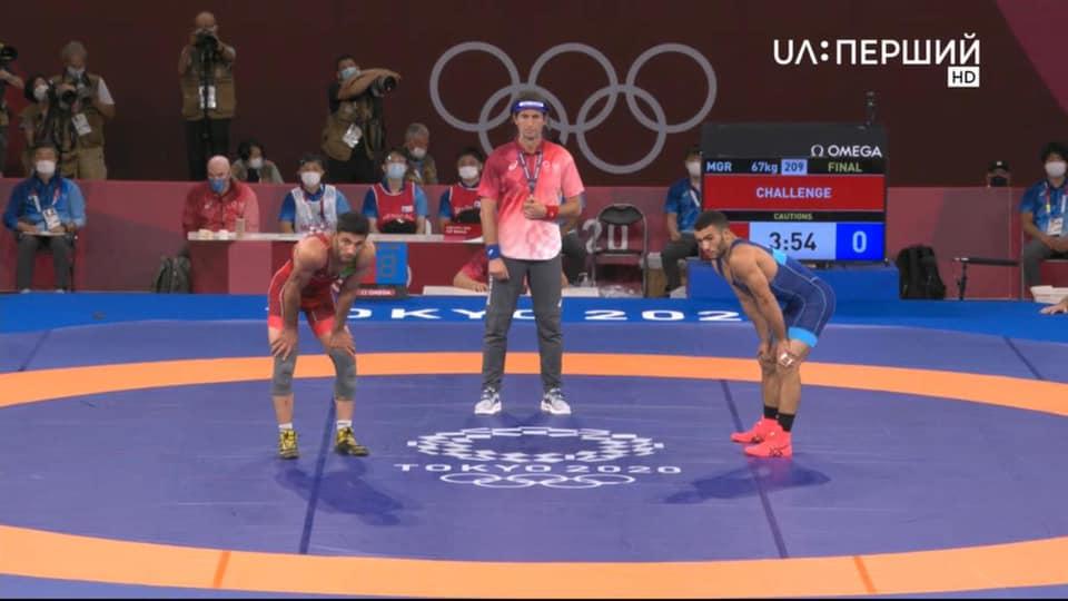 Украинский борец забрал «серебро» на Олимпиаде в Токио «фото»