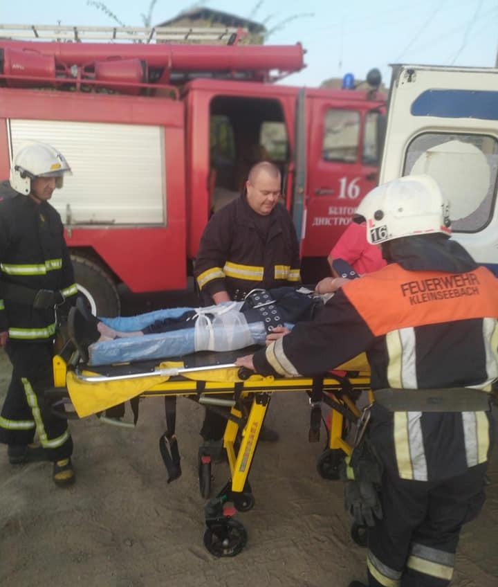 В ров Аккерманской крепости упал мужчина (фото) «фото»