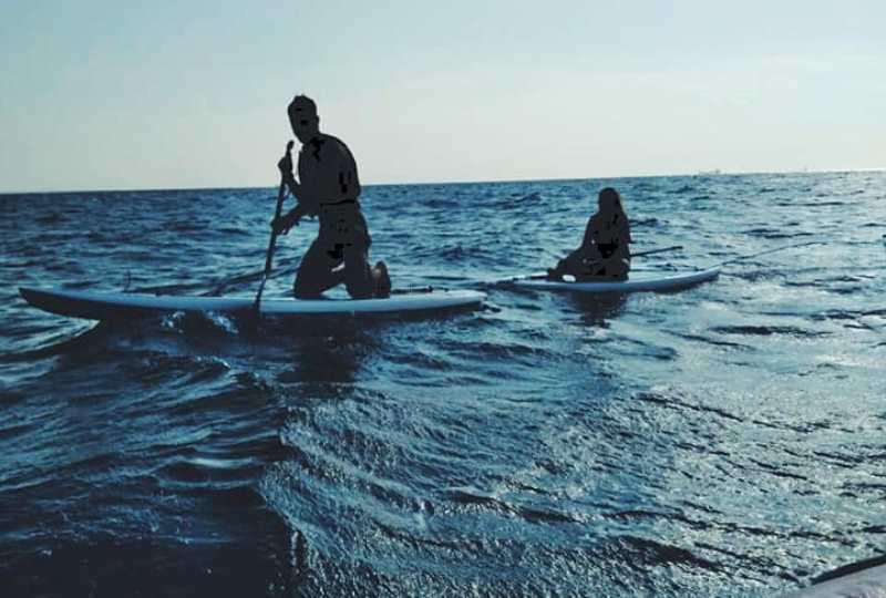 В Одессе ветер унес на 5 км от берега трех человек на сапах (фото) «фото»