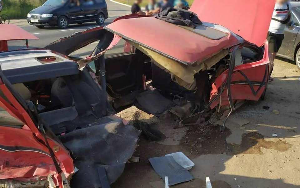 В Одесской области столкнулись две легковушки: пострадал подросток (фото) «фото»