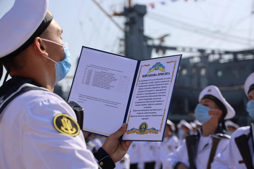 Одесские курсанты приняли присягу (фото) «фото»