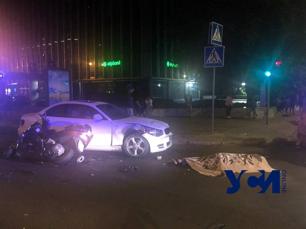 В центре Одессы в ДТП погиб мотоциклист (фото) «фото»