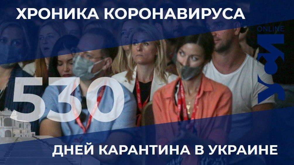 Хроники пандемии: Одесская область на третьем месте по количеству новых больных «фото»