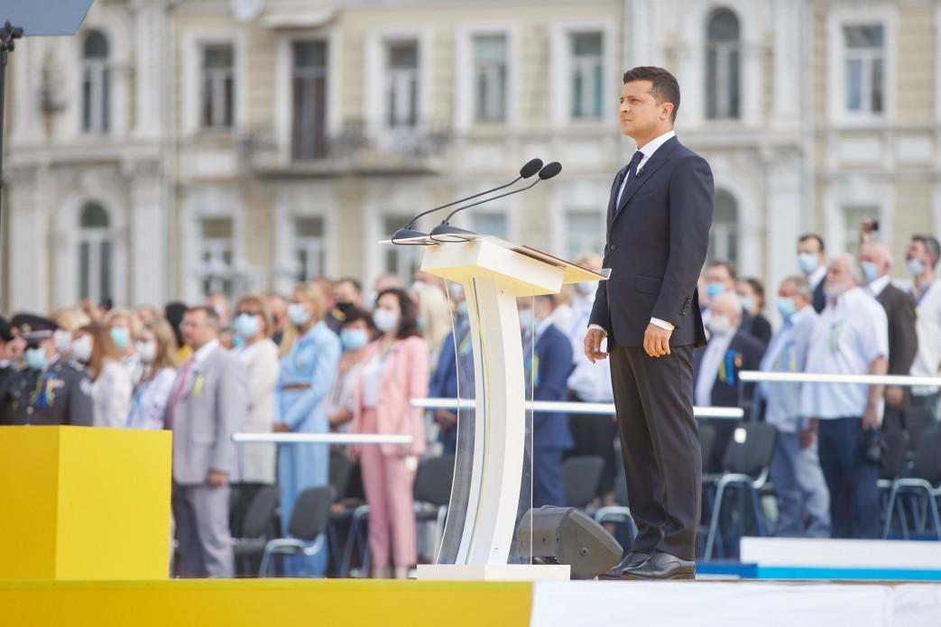 Президент ввел новый праздник – День украинской государственности «фото»
