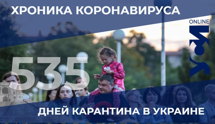 Пандемия: в Одесском регионе 5 летальных за сутки «фото»