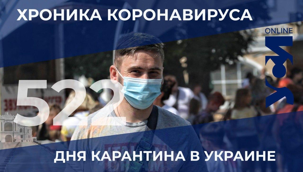 Пандемия: в Одесском регионе 4 летальных случая за сутки «фото»
