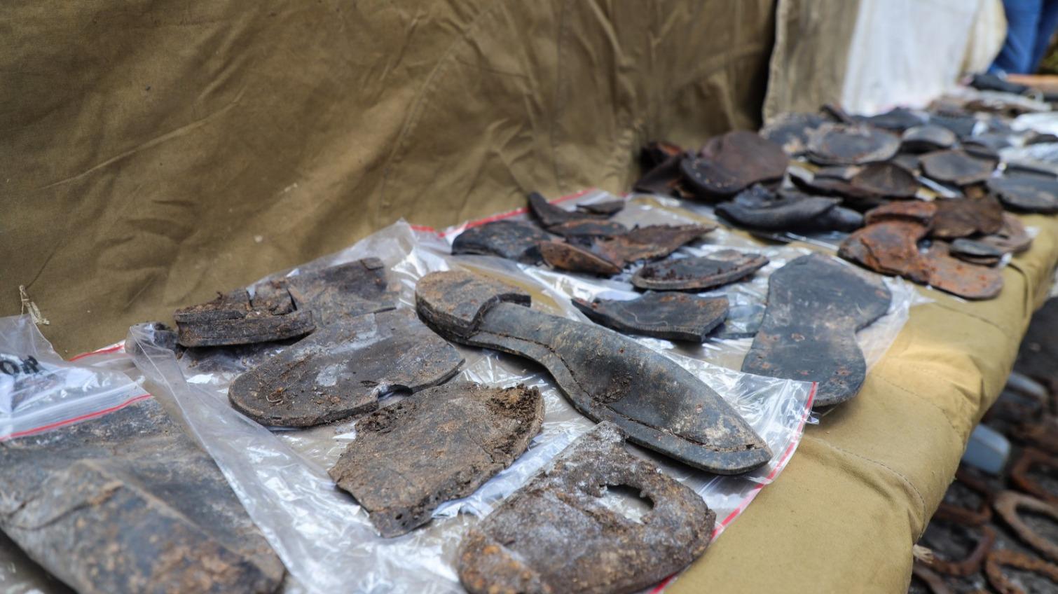 Раскопки на 6-м километре: поисковики рассказали о первых результатах (фото, аудио) «фото»