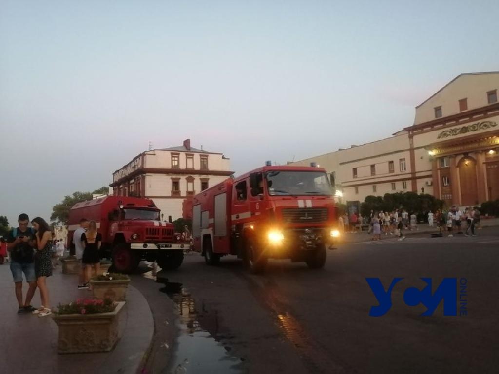 На Ланжероновской произошел пожар (фото) «фото»