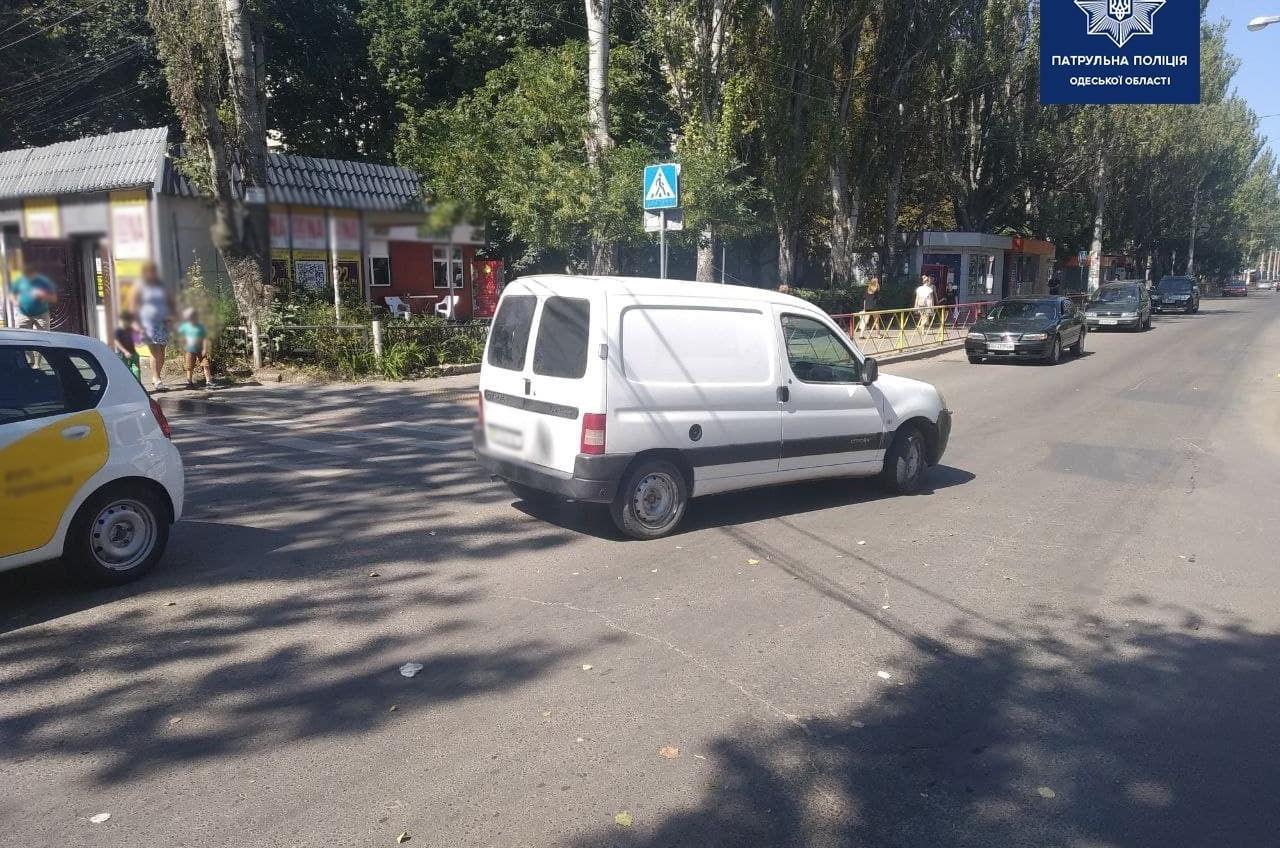 На Черемушках легковушка сбила пешехода «фото»