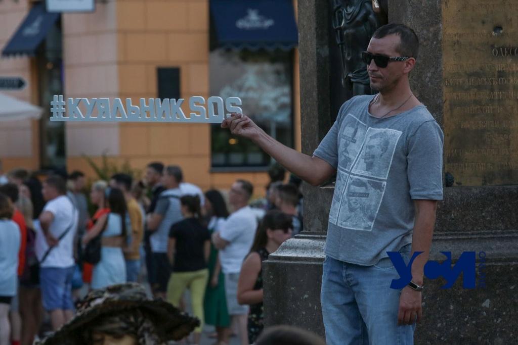 Спасем одесское сокровище: у Дюка прошел концерт в поддержку Куяльника (фото) «фото»
