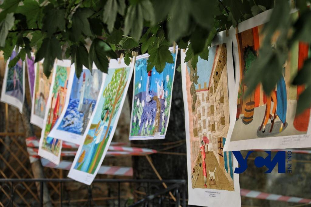 В одесском Горсаду прошел конкурс детского рисунка (фото) «фото»