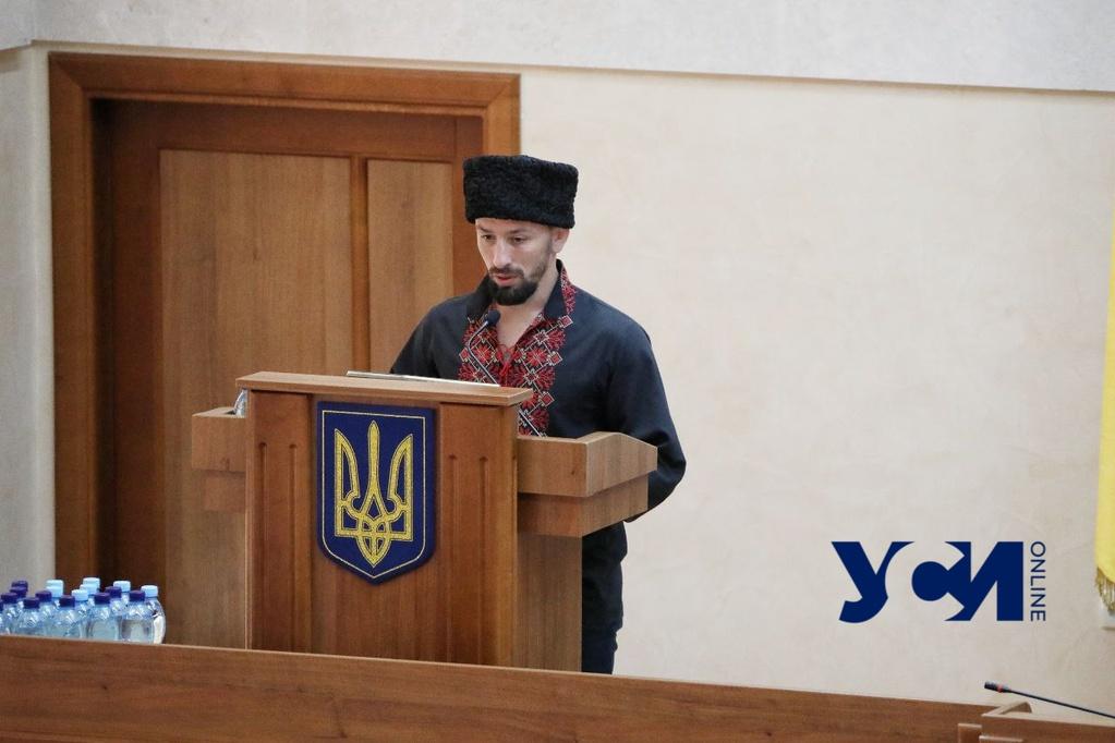 В Одесском облсовете почтили память Ройтбурда и привели к присяге нового депутата (фото) «фото»