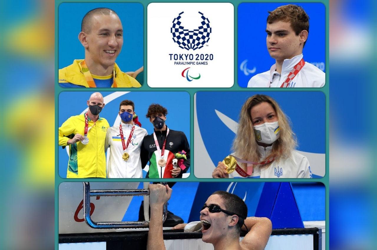 Украинские паралимпийцы завоевали за день 12 медалей «фото»