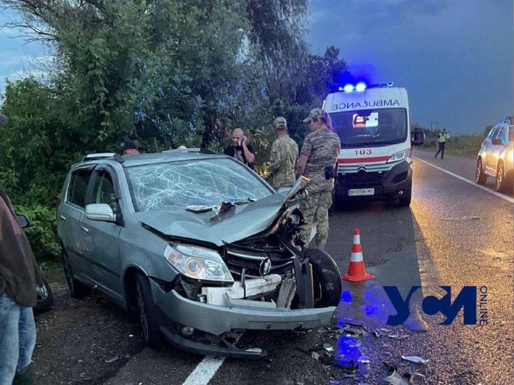На трассе в Одесской области произошло ДТП с пострадавшими (фото) «фото»