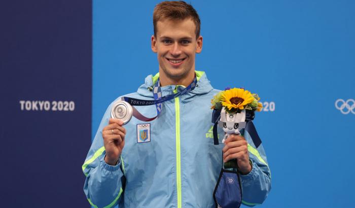 Украинский пловец забрал «серебро» на Олимпиаде в Токио «фото»
